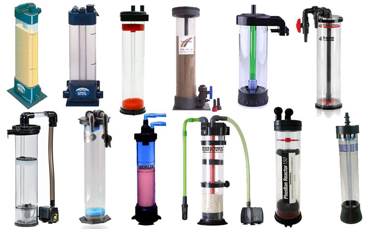 tipos de filtro de areia fluidizada