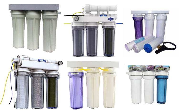 tipos de filtro deionizador efiltro de osmose reversa