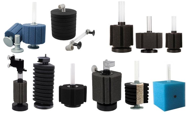 tipos de filtro de espuma
